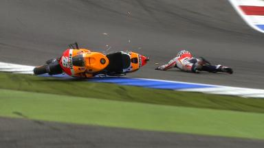 Assen 2013 - MotoGP - Q2 - Action - Dani Pedrosa - crash
