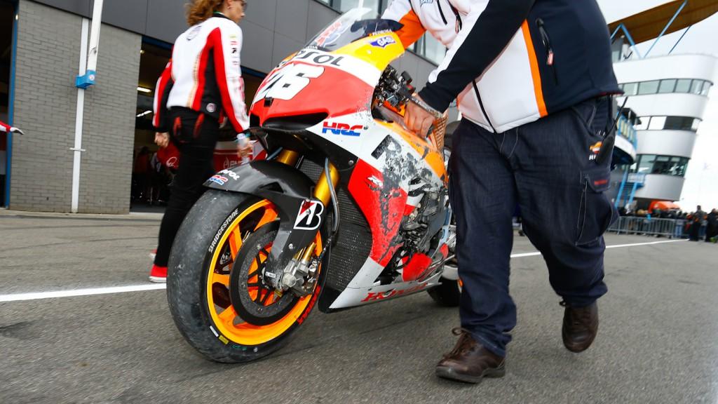 Pedrosa´s Bike, Repsol Honda Team, Assen Q2