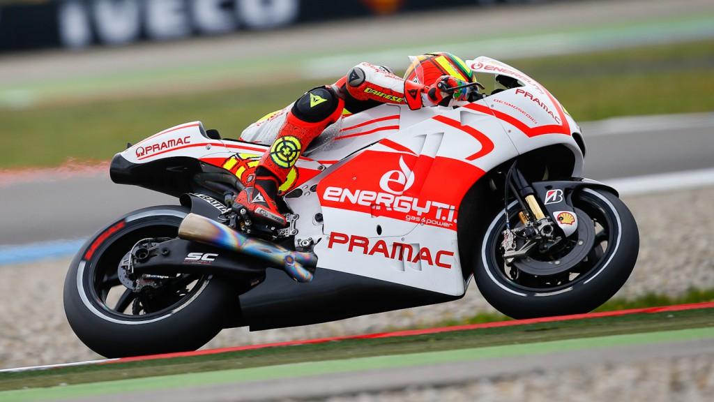 Andrea Iannone, Ducati Team, Assen Q1