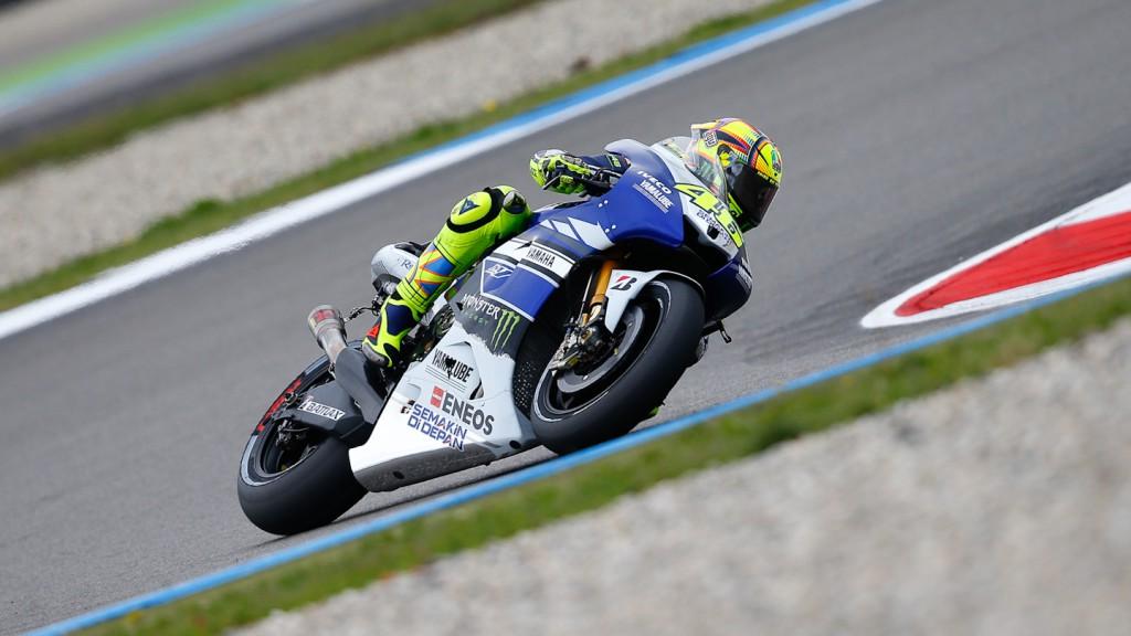 Valentino Rossi, Yamaha Factory Racing, Assen Q2