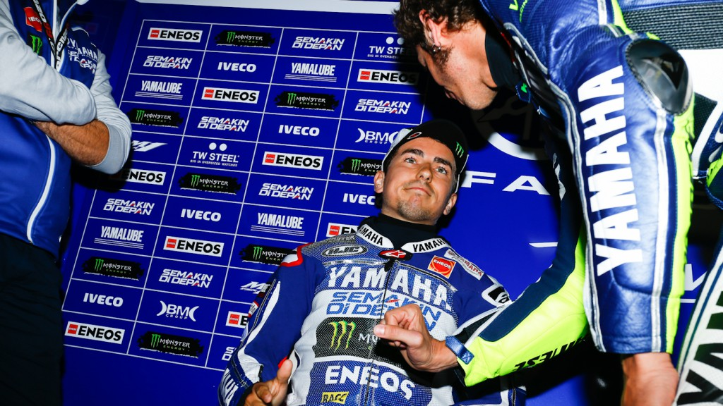 Jorge Lorenzo, Valentino Rossi, Yamaha Factory Racing, Assen WUP