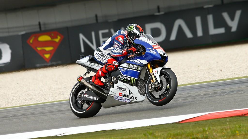 Jorge Lorenzo, Yamaha Factory Racing, Assen WUP