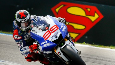 Man of steel lorenzo races to top five jorge lorenzo yamaha factory racing assen rac voltagebd Images