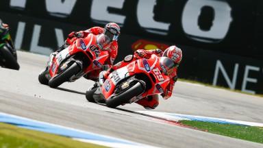Nicky Hayden, Andrea Dovizioso, Ducati Team, Assen RAC