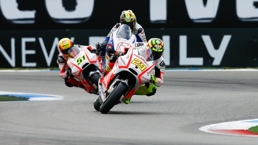 Andrea Iannone, Pramac Racing TEam, Assen RAC