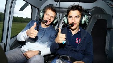 Marquez & Bradl on ZDF