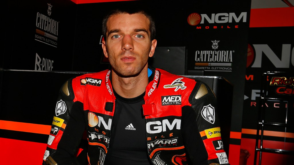 Alex de Angelis, NGM Mobile Forward Racing, Box