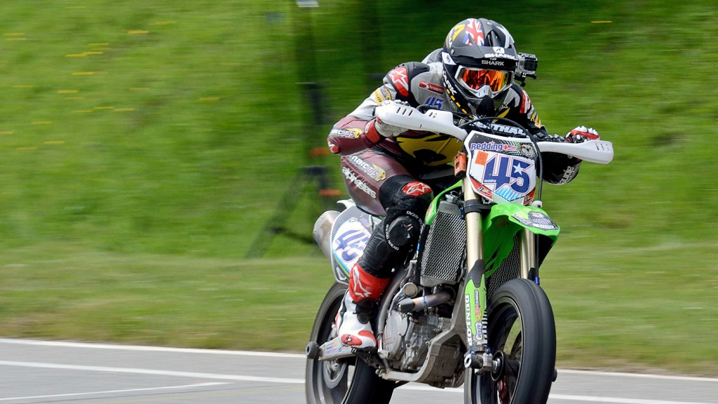 Scott Redding in Belgium Supermoto Championship