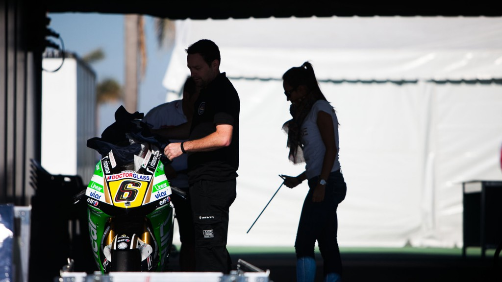 LCR Honda MotoGP box - MotoGP™ Test Build-up - Termas de Rio Hondo, Argentina