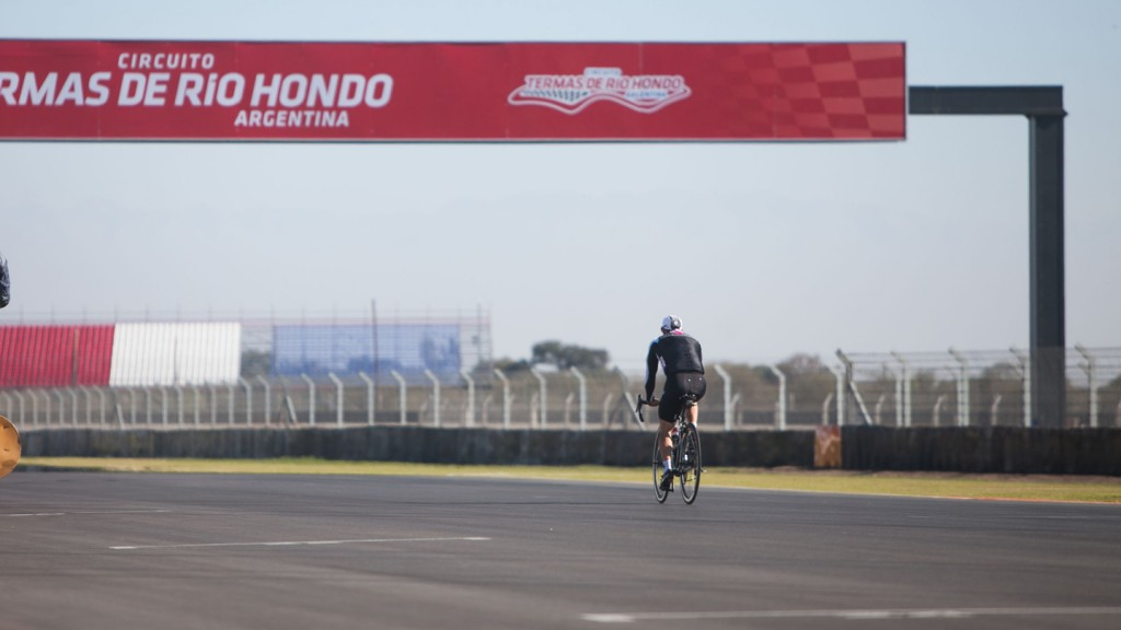 Cal Crutchlow - MotoGP™ Test Build-up - Termas de Rio Hondo, Argentina