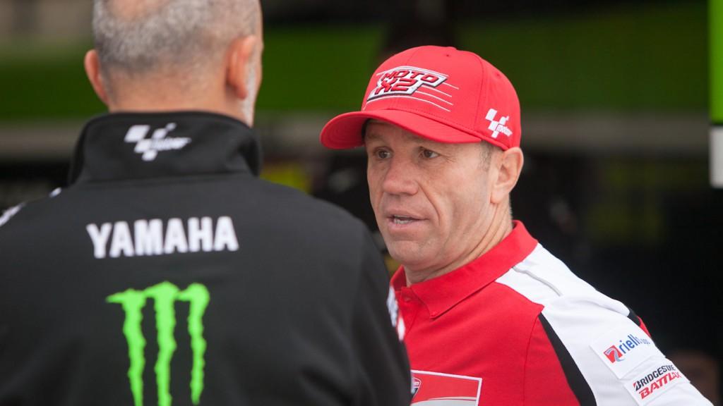 Randy Mamola, MotoGP™ Test - Termas de Rio Hondo, Argentina