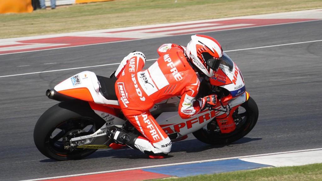 Nico Terol, Mapfre Aspar Team Moto2, MotoGP™ Test - Termas de Rio Hondo, Argentina