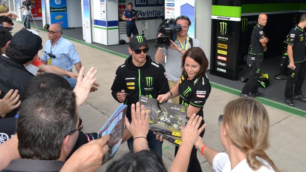 Cal Crutchlow, Monster Yamaha Tech 3, MotoGP™ Test - Termas de Rio Hondo, Argentina