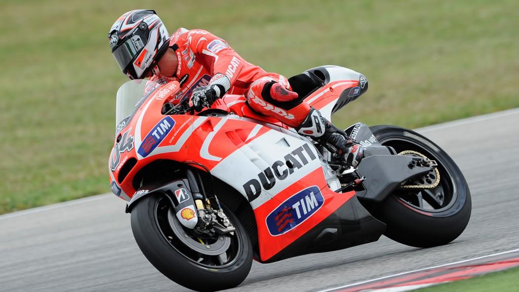 Andrea Dovizioso, Ducati Team, Misano Test