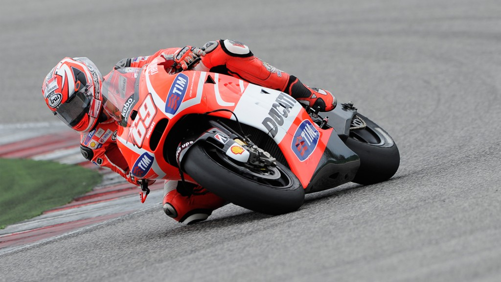 Nicky Hayden, Ducati Team, Misano Test