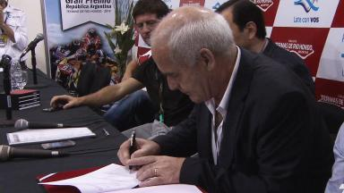 Enrique Meyer welcomes MotoGP™ to Argentina
