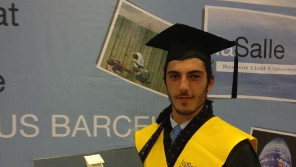 Axel Pons Graduation