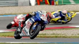 Casey Stoner gave himself, Ducati and Bridgestone a first premier class Assen victory with a superb breakaway from pole.