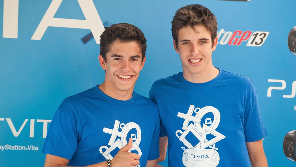 Marc and Alex Marquez, MotoGP™13 PlayStation®Vita