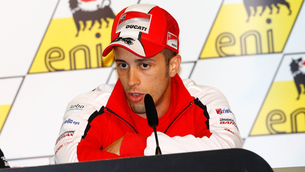 Andrea Dovizioso, Ducati Team, eni Motorrad Grand Prix Deutschland Press Conference