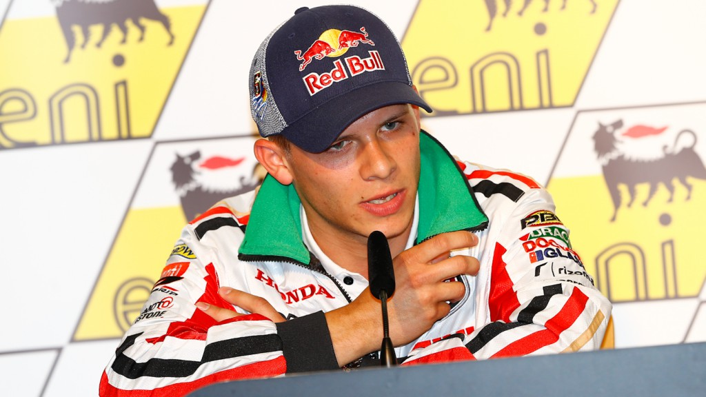 Stefan Bradl, eni Motorrad Grand Prix Deutschland Press Conference