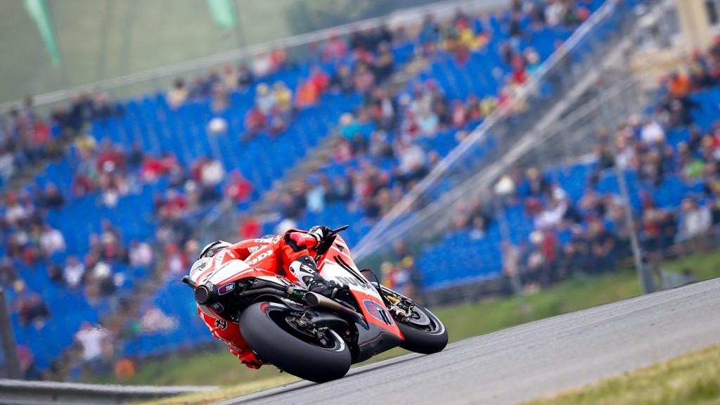 Andrea Dovizioso, Ducati Team, Sachsenring FP2