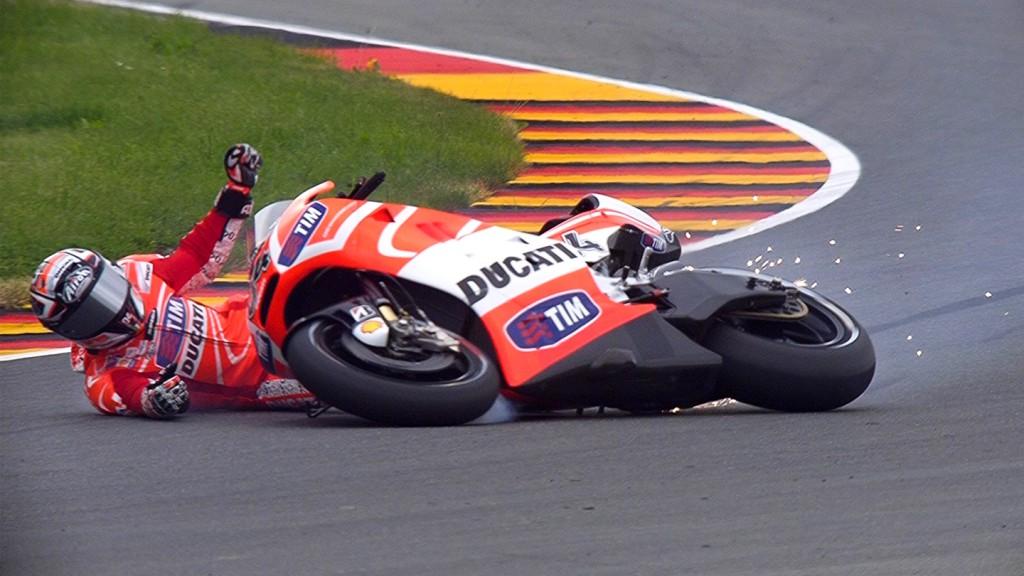 Andrea Dovizioso, Ducati Team, Sachsenring FP1