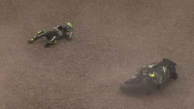 Sachsenring 2013 - MotoGP - FP1 - Action - Cal Crutchlow - Crash