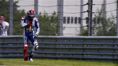 More trouble for Lorenzo at the Sachsenring