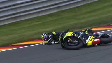 Sachsenring 2013 - MotoGP - FP2 - Action - Cal Crutchlow - crash