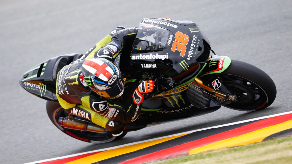 Bradley Smith, Monster Yamaha Tech 3, Sachsenring FP2