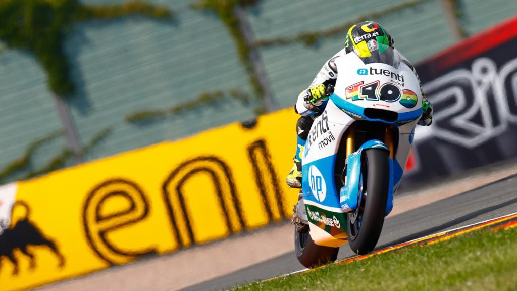 Pol Espargaro, Tuenti HP 40, Sachsenring FP1