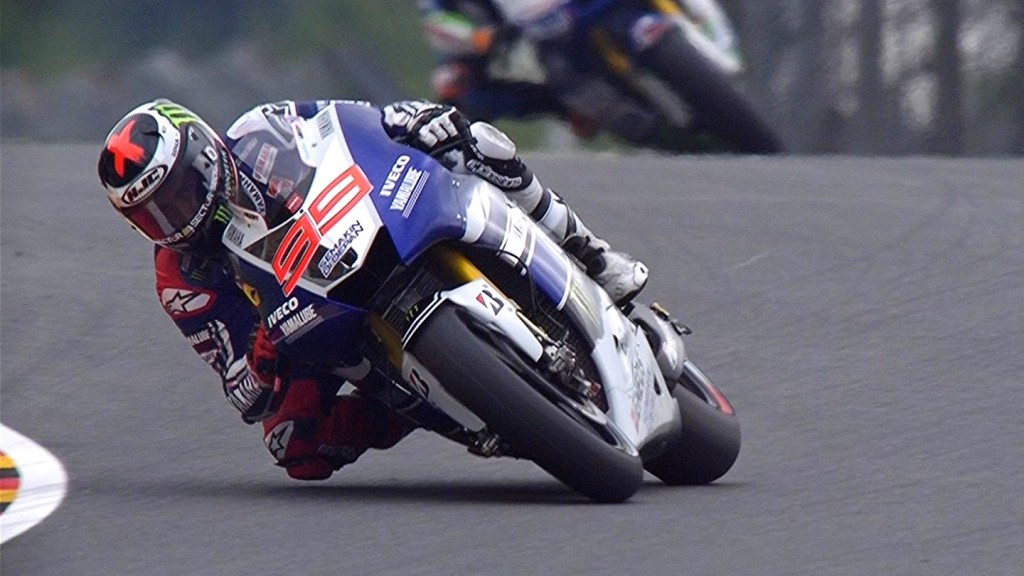 Jorge Lorenzo, Yamaha Factory Racing, Sachsenring FP1