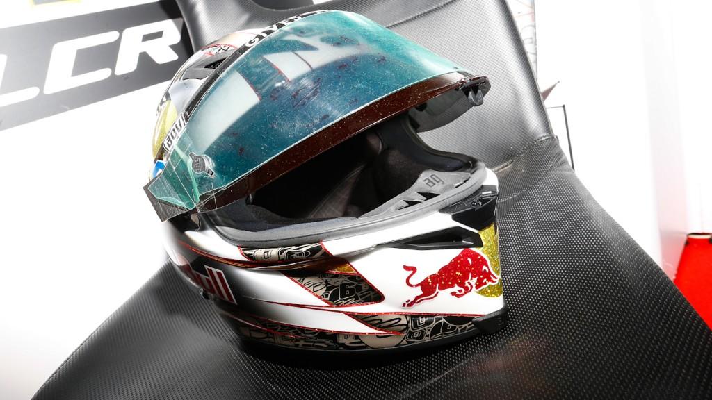Bradl´s Sachsenring Helmet