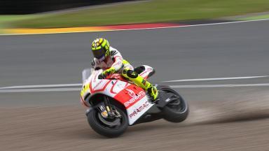 Sachsenring 2013 - MotoGP - FP4 - Action - Andrea Iannone - crash