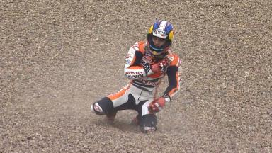 Dani Pedrosa's dramatic Saturday in Germany