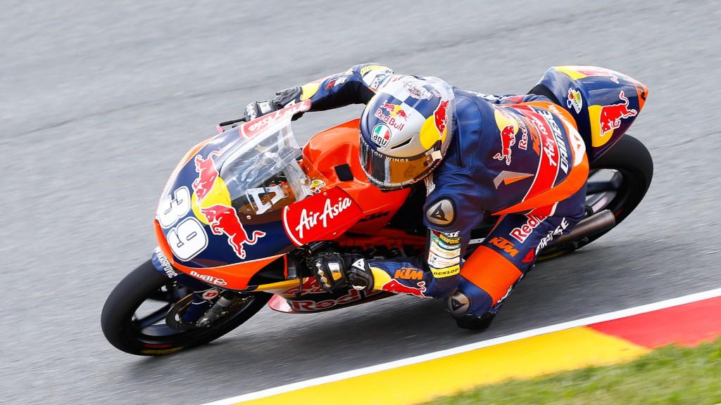 Luis Salom, Red Bull KTM Ajo, Sachsenring FP3