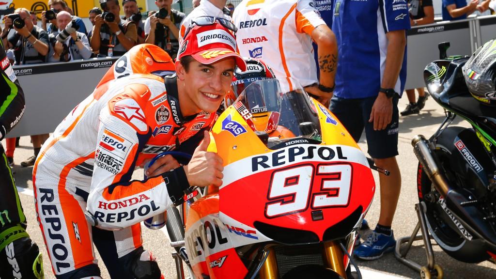 Marc Marquez, Repsol Honda Team, Sachsenring Q2