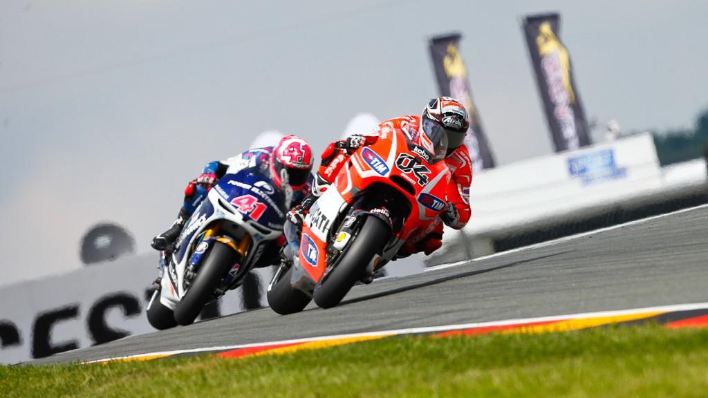 Andrea Dovizioso, Ducati Team, Sachsenring RAC