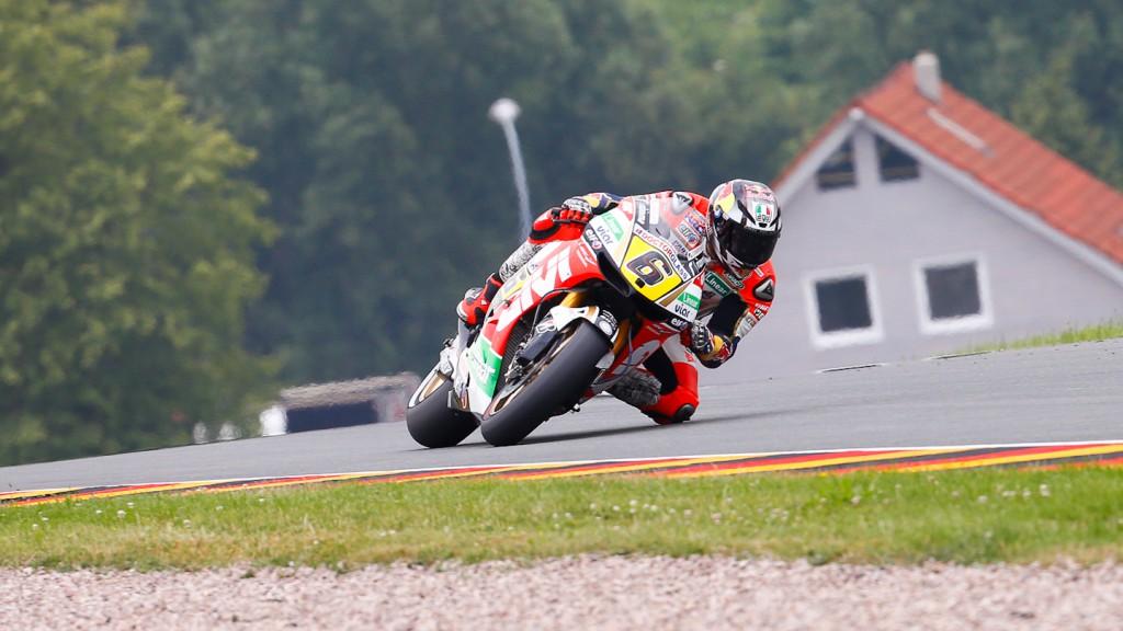 Stefan Bradl, LCR Honda MotoGP, Sachsenring WUP