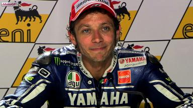 Sachsenring 2013 - MotoGP - RACE - Interview - Valentino Rossi