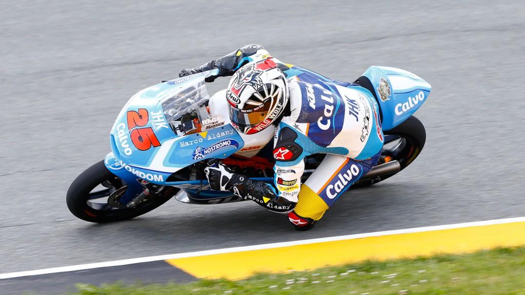 Maverick Viñales, Team Calvo, Sachsenring WUP