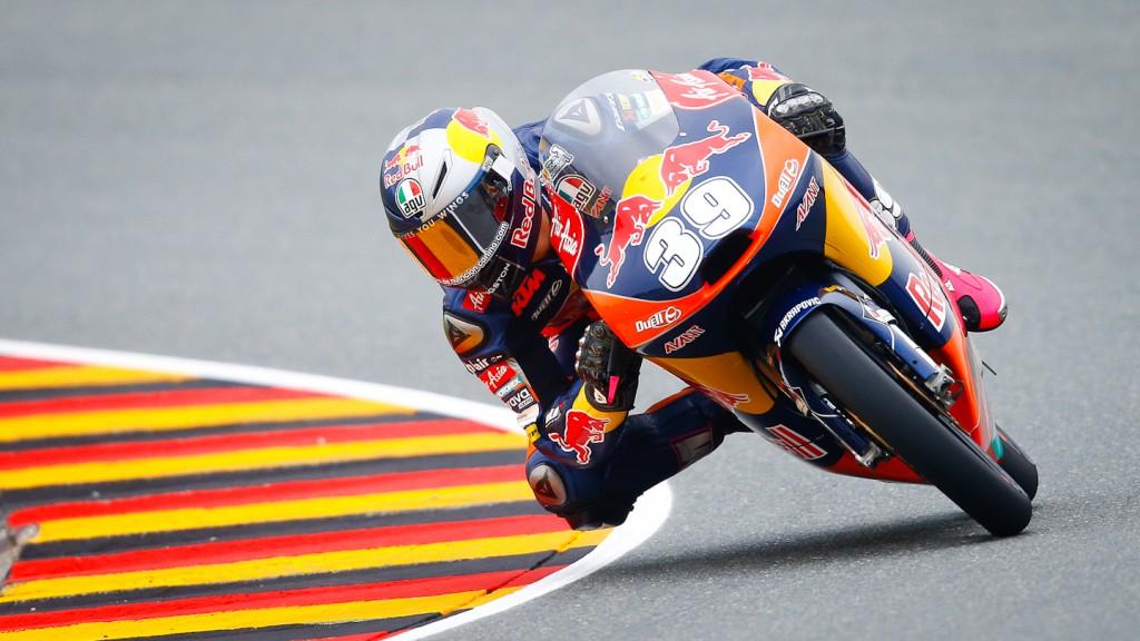 Luis Salom, Red Bull KTM Ajo, Sachsenring RAC