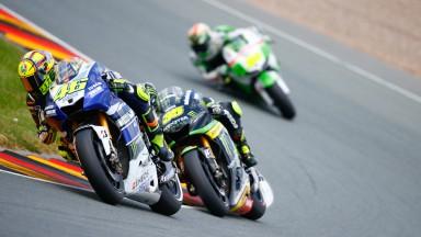 Valentino Rossi, Yamaha Factory Racing, Sachsenring RAC