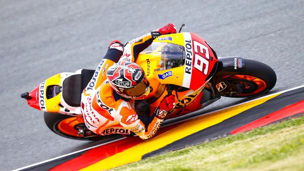 Marc Marquez, Repsol Honda Team, Sachsenring WUP