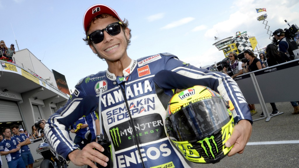 Valentino Rossi, Yamaha Factory Racing, Sachsenring Q2