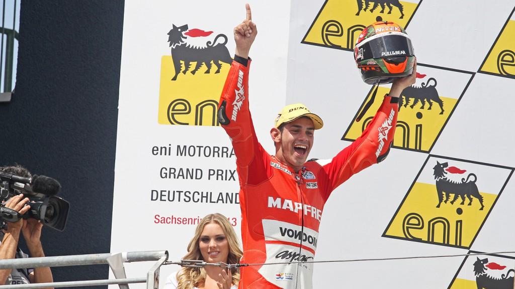 Jordi Torres, Mapfre Aspar Team Moto2, Sachsenring RAC