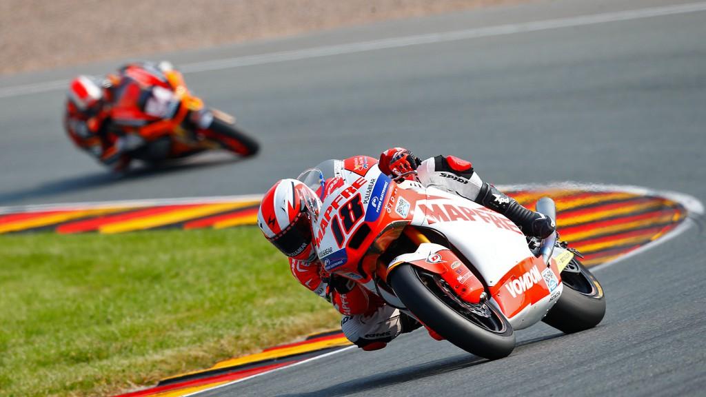 Nico Terol, Mapfre Aspar Team Moto2, Sachsenring RAC