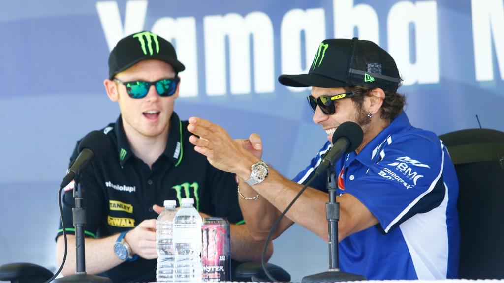 Bradley Smith, Valentino Rossi - Yamaha US