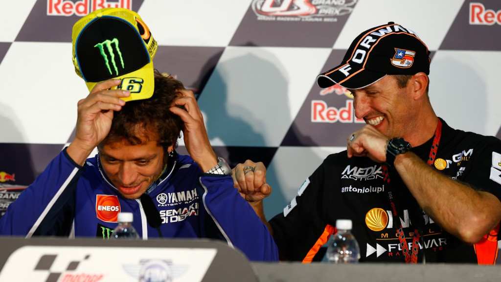 Rossi, Edwards, Red Bull U.S. Grand Prix Press Conference